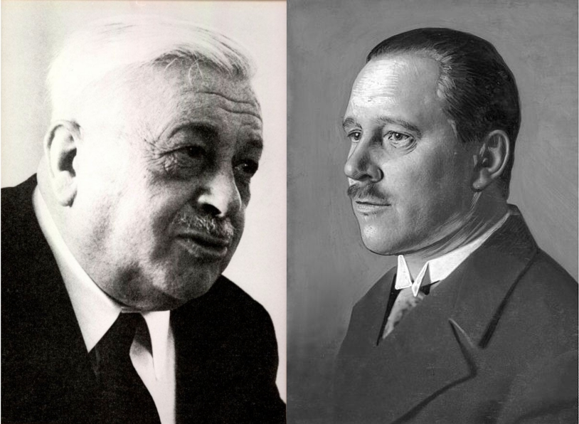 Karl Alexander von Müller und Karl Bosl