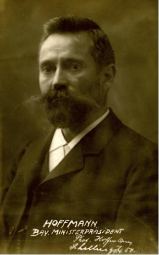 Ministerpräsident Hoffmann
